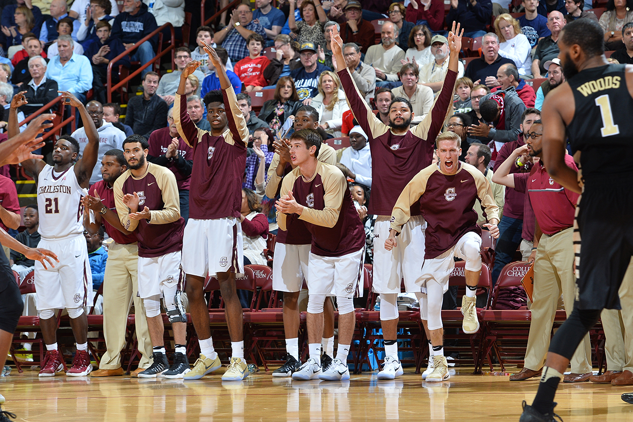 College of Charleston Basketball's Erik Goldbach is ...