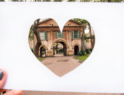 The 7 Most Romantic Places on CofC's Campus