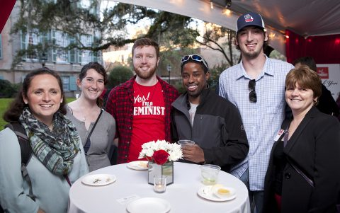 Fifth Annual Yes! I'm a Feminist Party Raising Funds for Alison Piepmeier Scholarship