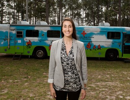 Grad Brings Passion to the American Red Cross