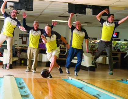 CofC Faculty Bowling Team Has Real Chemistry
