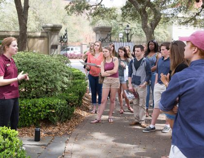 It's Accepted Student Weekend at CofC