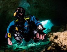 CofC's 'Dr. X' Explores Ocean's Labrynths With Technical Scuba Diving