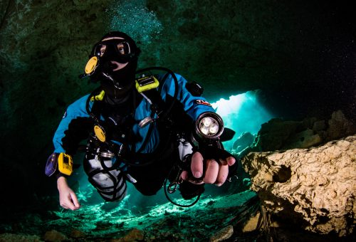 CofC's 'Dr. X' Explores Ocean's Labryinths With Technical Scuba Diving