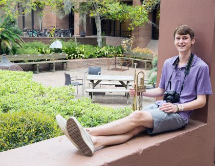 CofC Student Celebrates Local Musicians With YouTube Series, Charlestown Sounds Festival