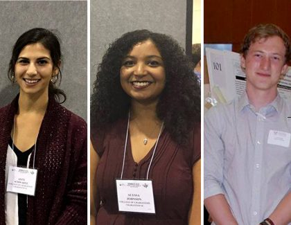 3 CofC Students Named Goldwater Scholars