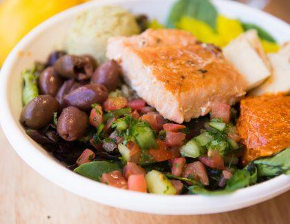 Iron Chef Cat Cora Brings Instagram-Worthy Grain Bowls to CofC