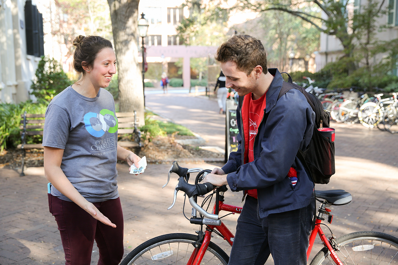 It's sustainability week at the College of Charleston