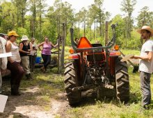 College Partnership Growing the Next Generation of Farmers