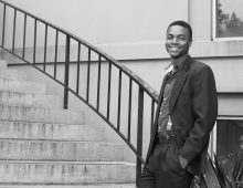 CofC Senior Shares His Fight Against Poverty Through Hip-Hop, R&B