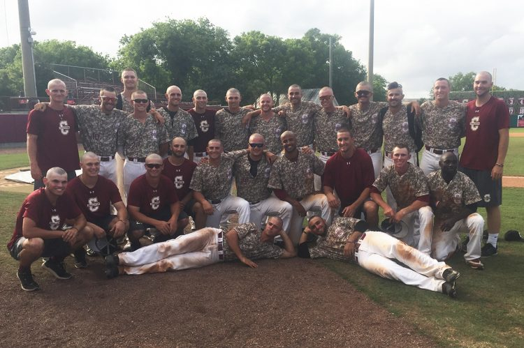 CofC Baseball Players Shave Heads, Raise Money for Cancer Research