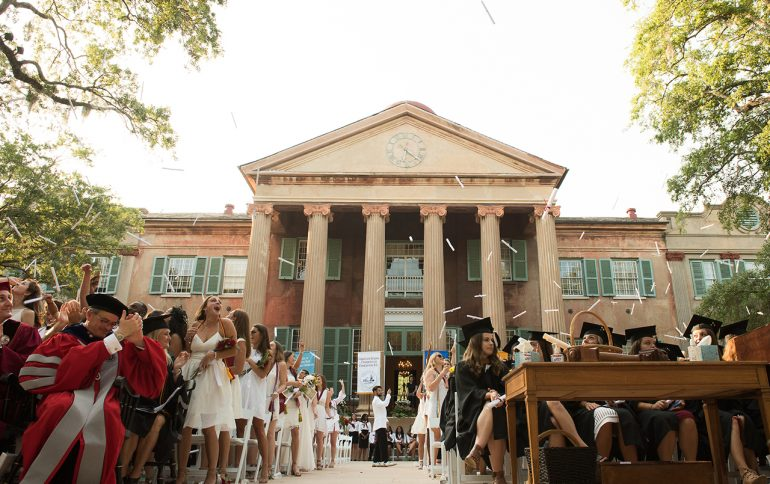 2017 College of Charleston Commencement Videos Are Here