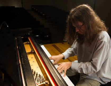 Student Composer Maxx Bradley Finds Musical Inspiration at CofC