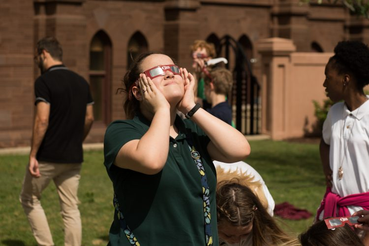 Eclipse Outreach Grant Brings College Community to Light