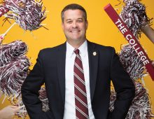 Athletics Director Matt Roberts Values Strength in Numbers