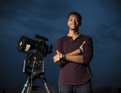 Astrophysics Major is in His Orbit