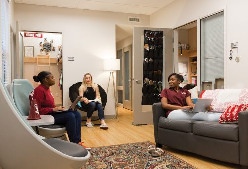 The Suite Life: Peek Inside Rutledge Rivers Residence Hall