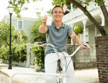 CofC Student Rolls Out Bike-Based Coffee Delivery