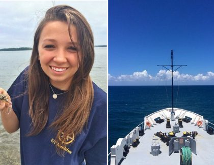 Geology Student Spends Summer Mapping Ocean Floor