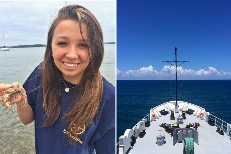 Geology Student Spends Summer Mapping Ocean Floor