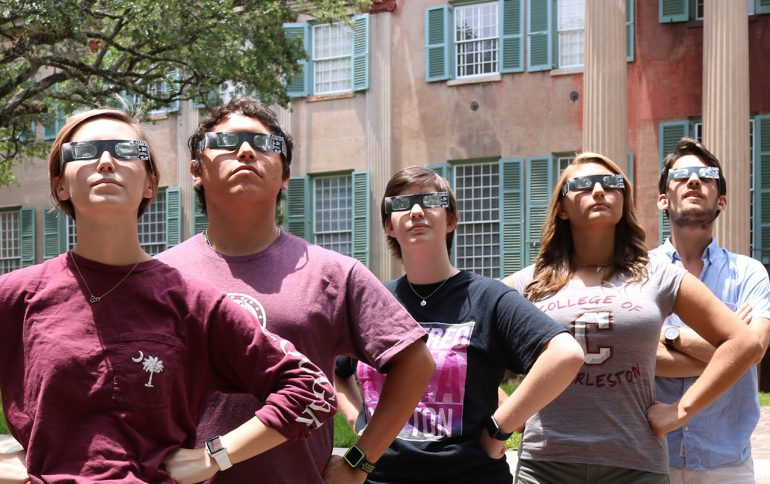 College to Distribute Solar Eclipse Glasses to Campus