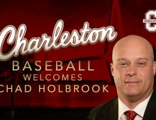 Chad Holbrook Named CofC Baseball's Head Coach