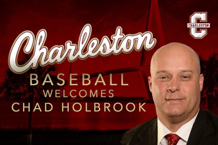 Chad Holbrook Named CofC Baseball's Head Coach