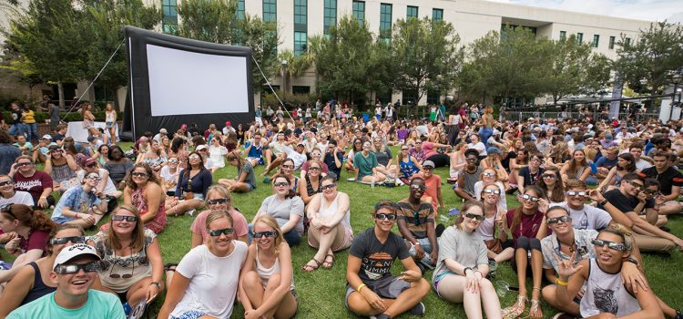 CofC Students Kick-Off the Academic Year with an Eclipse