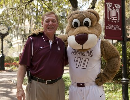 CofC President Glenn McConnell Welcomes New, Returning CofC Students