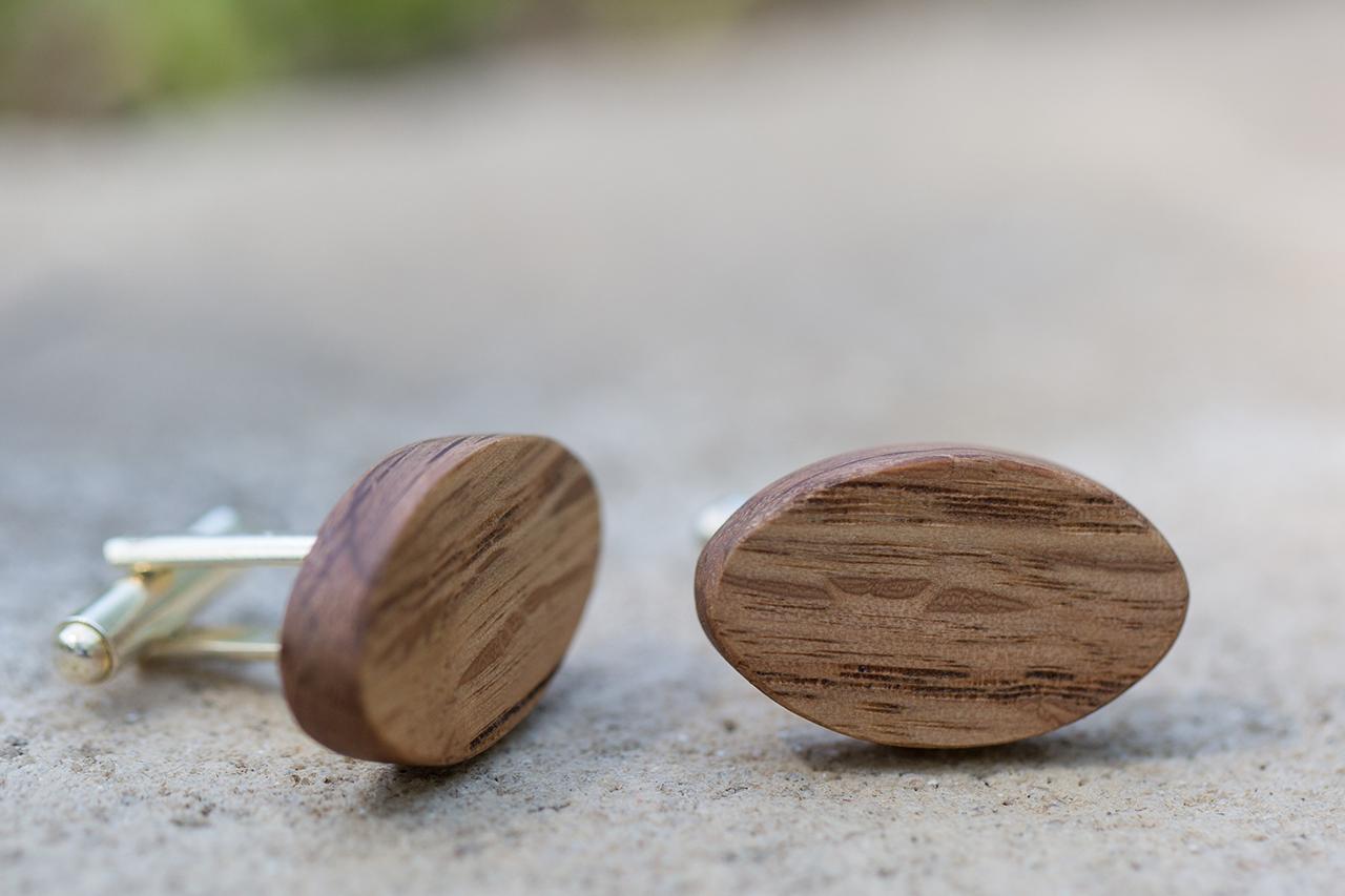 Oak Cufflinks