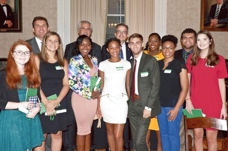 Hibernian Society Awards 13 Scholarships to CofC Students