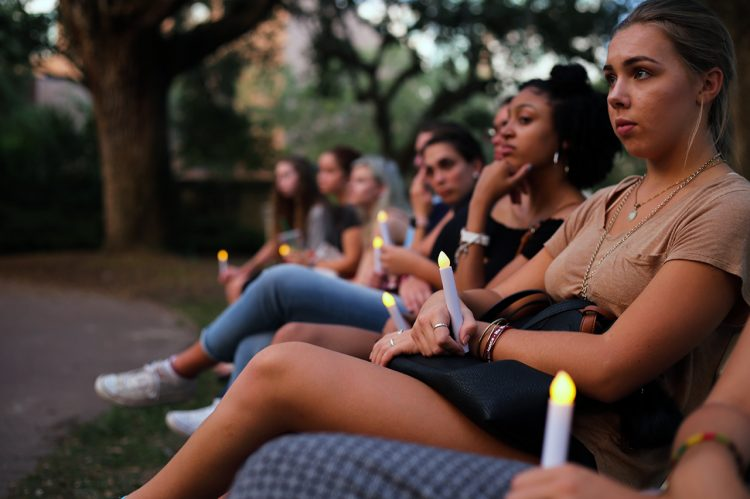 No Violence Day Vigil Focuses on Healing and Unity