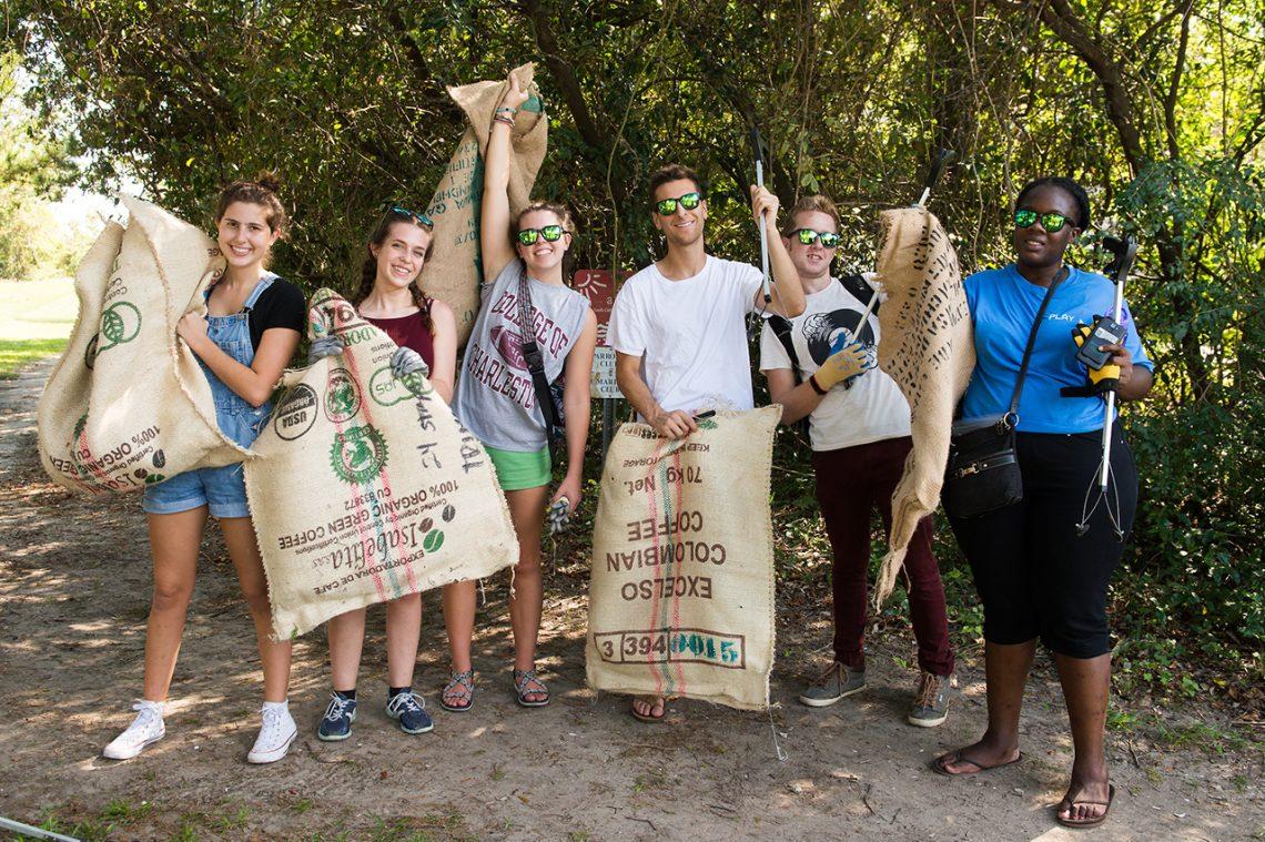 Sea Trash Inspires Student Sculpture Project