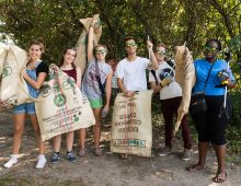 Sea Trash Inspires Student Sculpture Project
