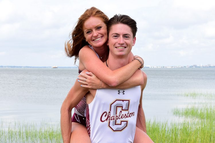 CofC Cross Country Bonds Brother-Sister Duo