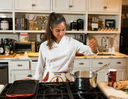 Hospitality Student Brings Cooking Talents to the Table