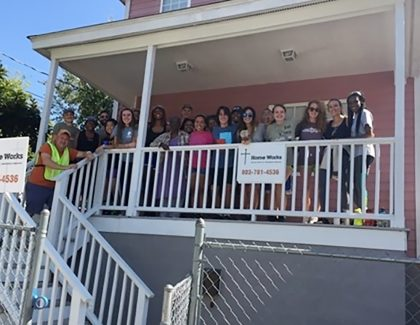 Students Give Back Through Service Project