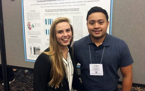 Chemistry Students Expand their Horizons at Regional Conference