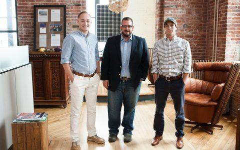 Three CofC Alums Shine Light on Solar Energy