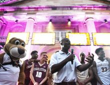 Get Fired Up at the Basketball Block Party