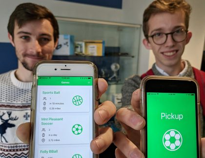 Students Win Top Prize for Pickup Sports App