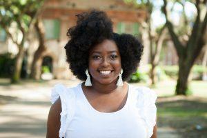 Collegiate Curls founder Courtney Hicks