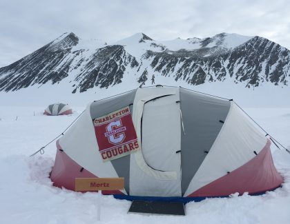 Alumnus Makes Historic Trek to South Pole