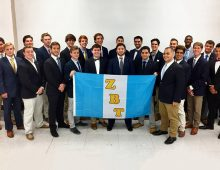 Fraternity Established in 1898 Starts Chapter at CofC