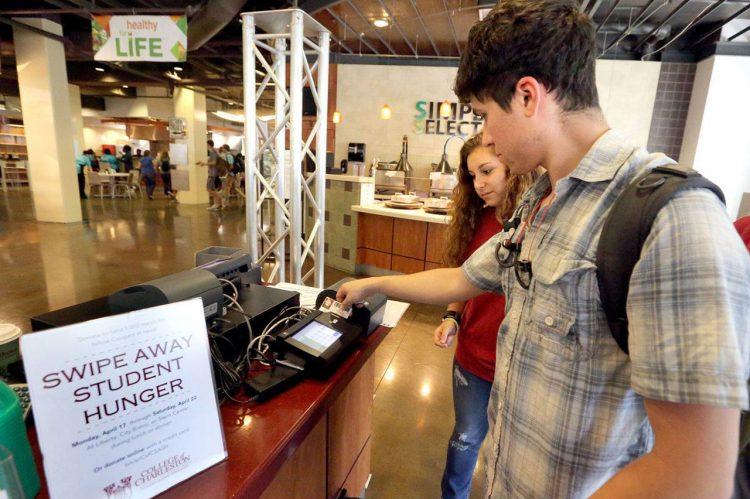 Swipe Away Student Hunger Campaign Raises Over $50K