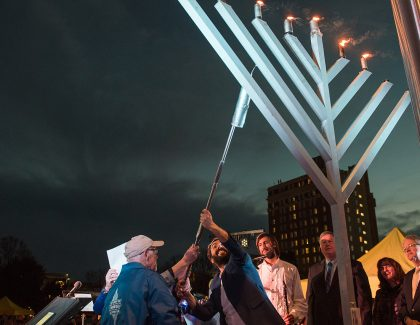 Join the Yaschik/Arnold Jewish Studies Program for Chanukah in the Square
