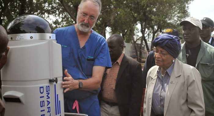 Professor's Disinfection Device Combats Disease Worldwide