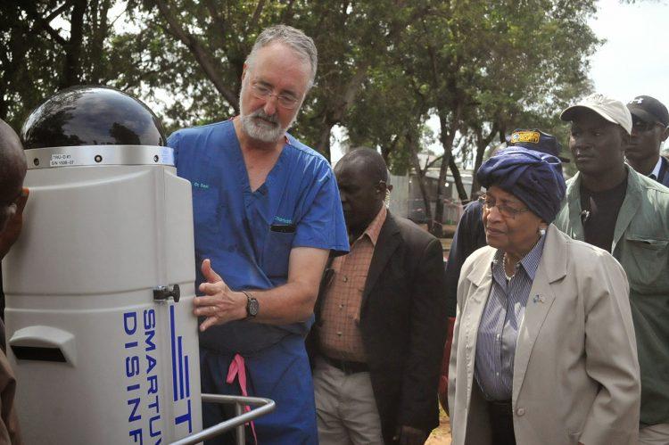 Professor's Disinfection Device Combats Disease Worldwide
