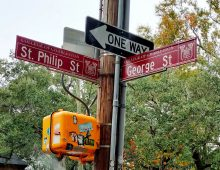 Check Out CofC's New Street Signs