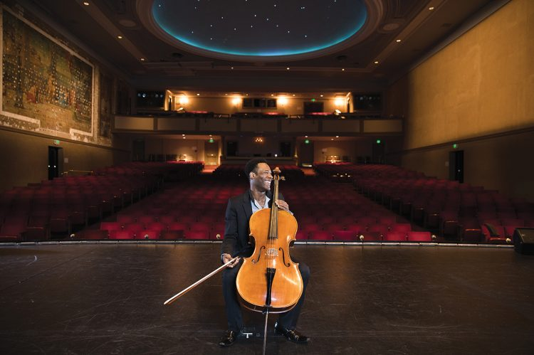 This Cellist is Going for Baroque